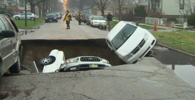 Dodge Avenger Sink Hole