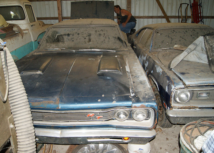 1969 Dodge Coronet R/T Barn Find