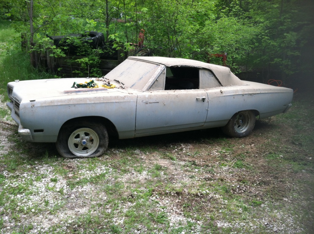 1969 Plymouth Road Runner Barn Find | Mopar Blog