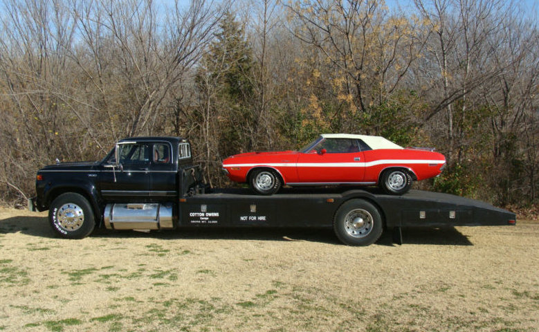 Cotton Owens Race Car Hauler On Ebay Mopar Blog