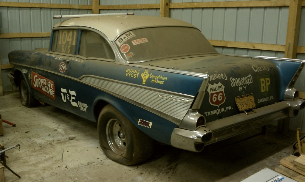 Surprise Package: a Max Wedge-powered '57 Chevy   Mopar Blog