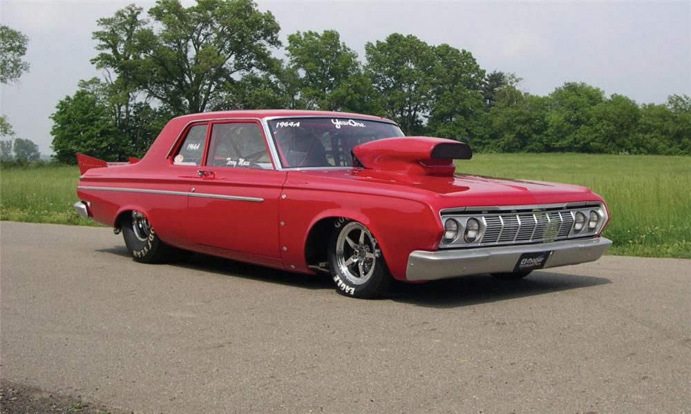 1964 Plymouth Savoy Max Wedge Drag Car Mopar Blog