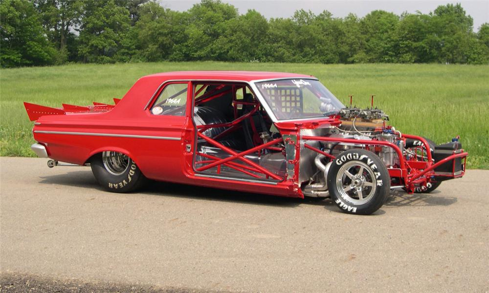 1964 Plymouth Savoy Max Wedge Drag Car | Mopar Blog