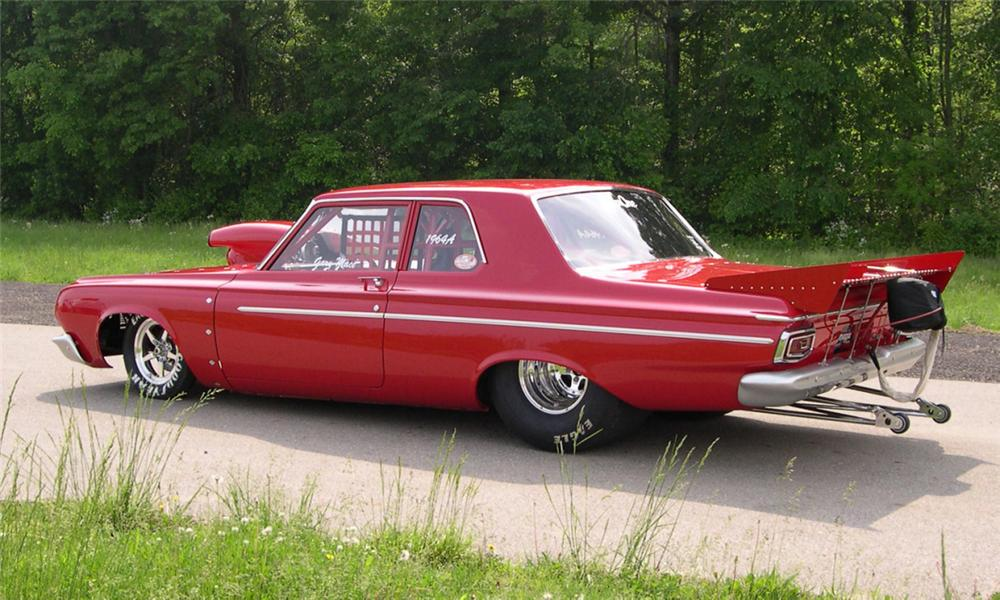 1964-Plymouth-Savoy-Max-Wedge-Drag-Car