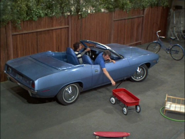 Movie mopar of the week 1971 plymouth barracuda convertible from the