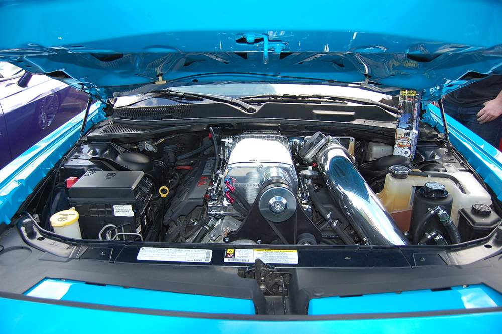 HPP-Challenger-Superbird-Conversion-engine