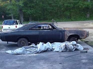 burned-1968-Hemi-Dodge-Charger-RT