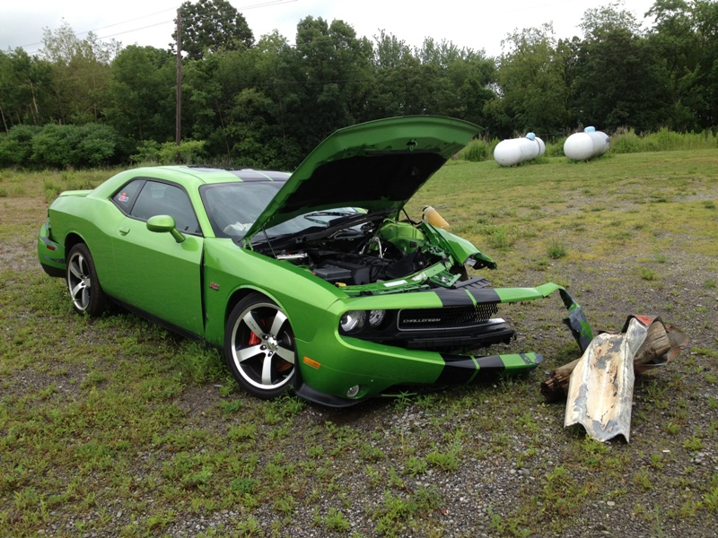 green-with-envy-Dodge-Challenger-SRT8-392-wreck-1
