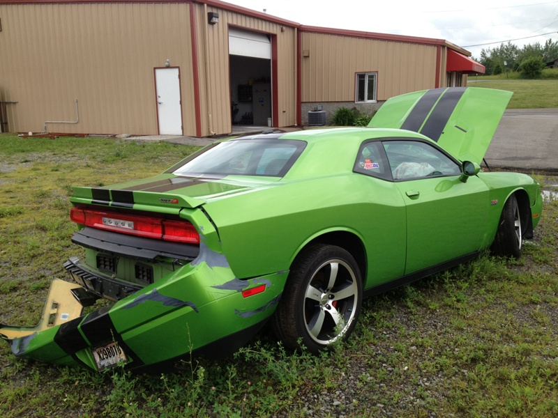 green-with-envy-Dodge-Challenger-SRT8-392-wreck-2