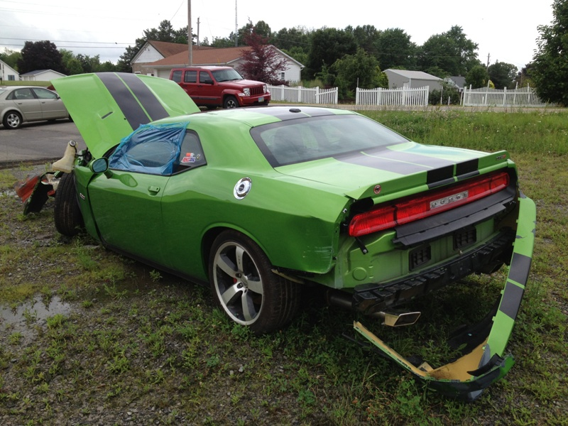 green-with-envy-Dodge-Challenger-SRT8-392-wreck-3