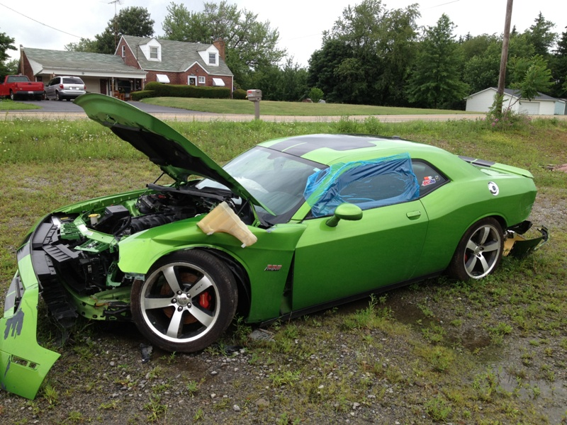 green-with-envy-Dodge-Challenger-SRT8-392-wreck-5