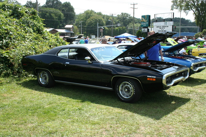 Triple Black 1971 Plymouth Gtx 1 Mopar Blog