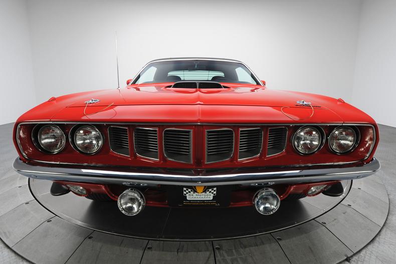 Beau ... 1971 Plymouth Hemi Cuda 6 ...