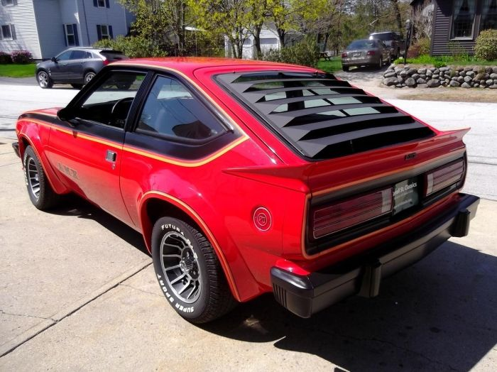 1979 amc spirit amx for sale on hemmings mopar blog. Black Bedroom Furniture Sets. Home Design Ideas