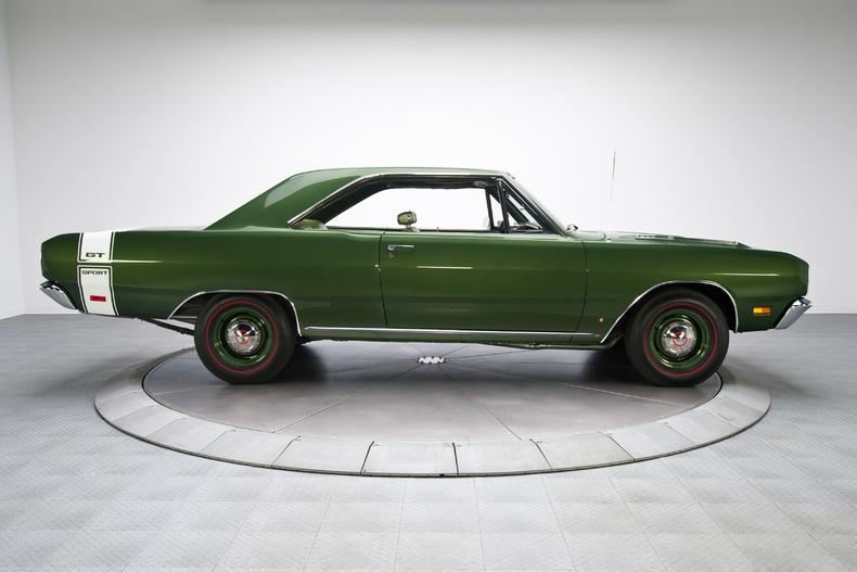 Dodge Dart 1969 Green