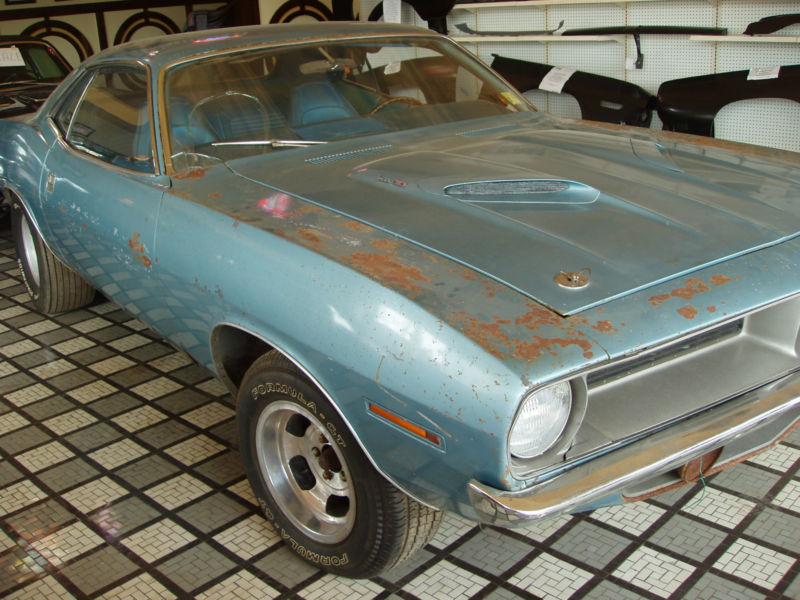 1970 Plymouth Barracuda Barn Find On EBay