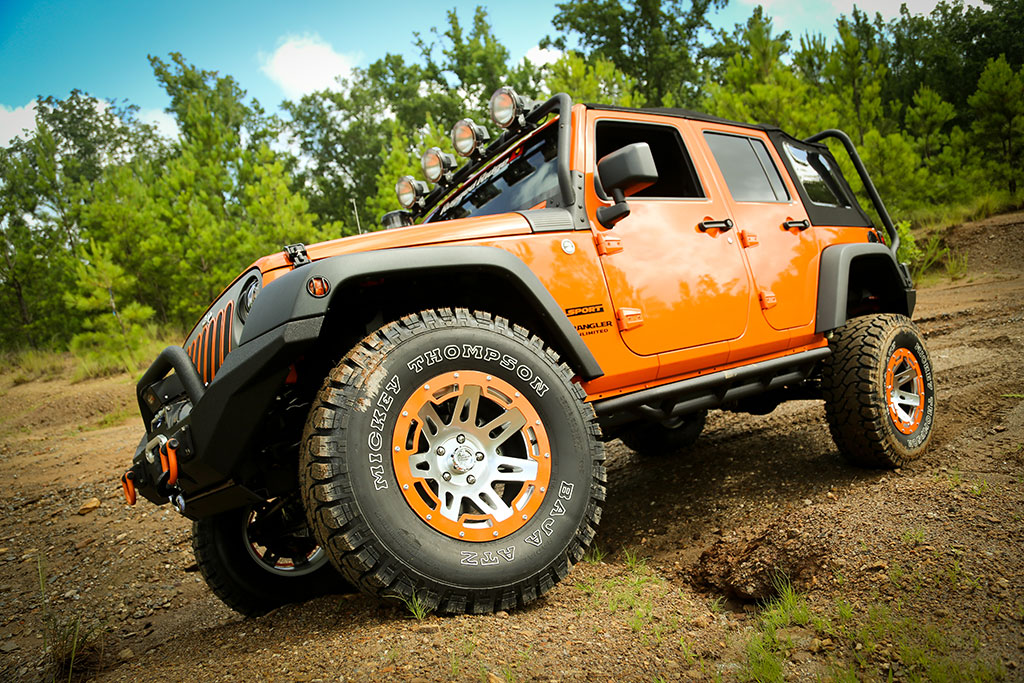 2013 Jeep Wrangler Unlimited Crusher