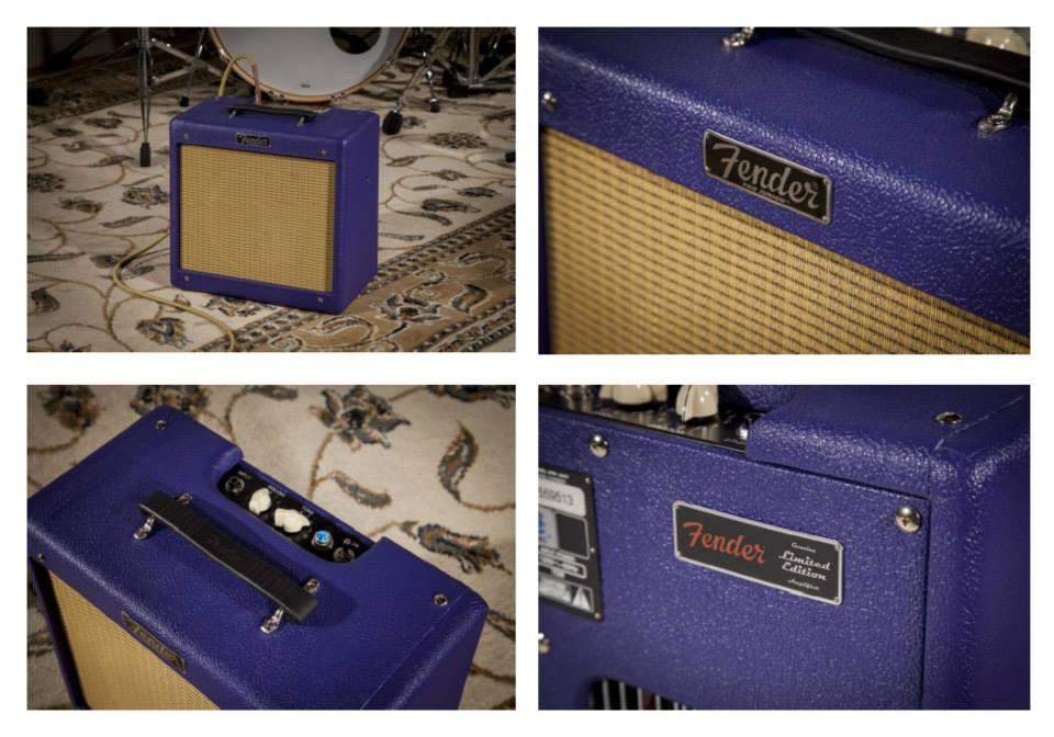 Plum Crazy Fender Hot Rod Iii Pro Junior Amp Mopar Blog