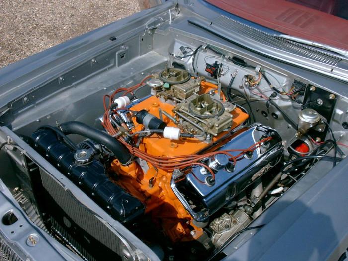 1964-Dodge-330-engine