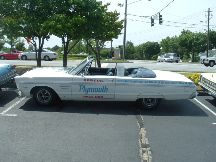 1965 Plymouth Sport Fury Indy Pace Car For Sale On Hemmings Mopar Blog