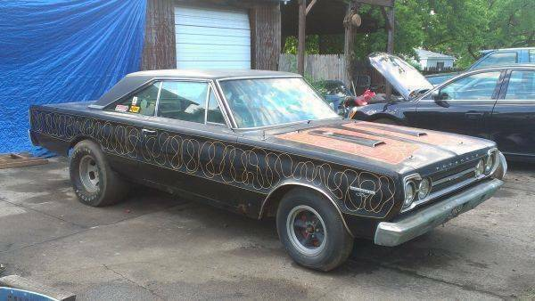 Mopars For Sale On Craigslist >> 1967 Plymouth GTX 4-Speed on Detroit Craigslist | Mopar Blog