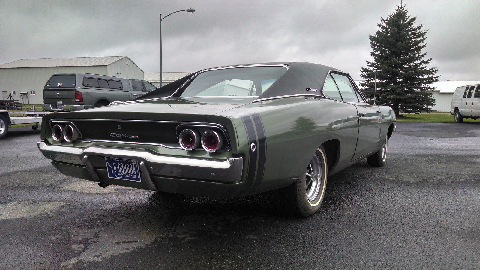 1968 Dodge Charger 383 4 Speed On Ebay Mopar Blog