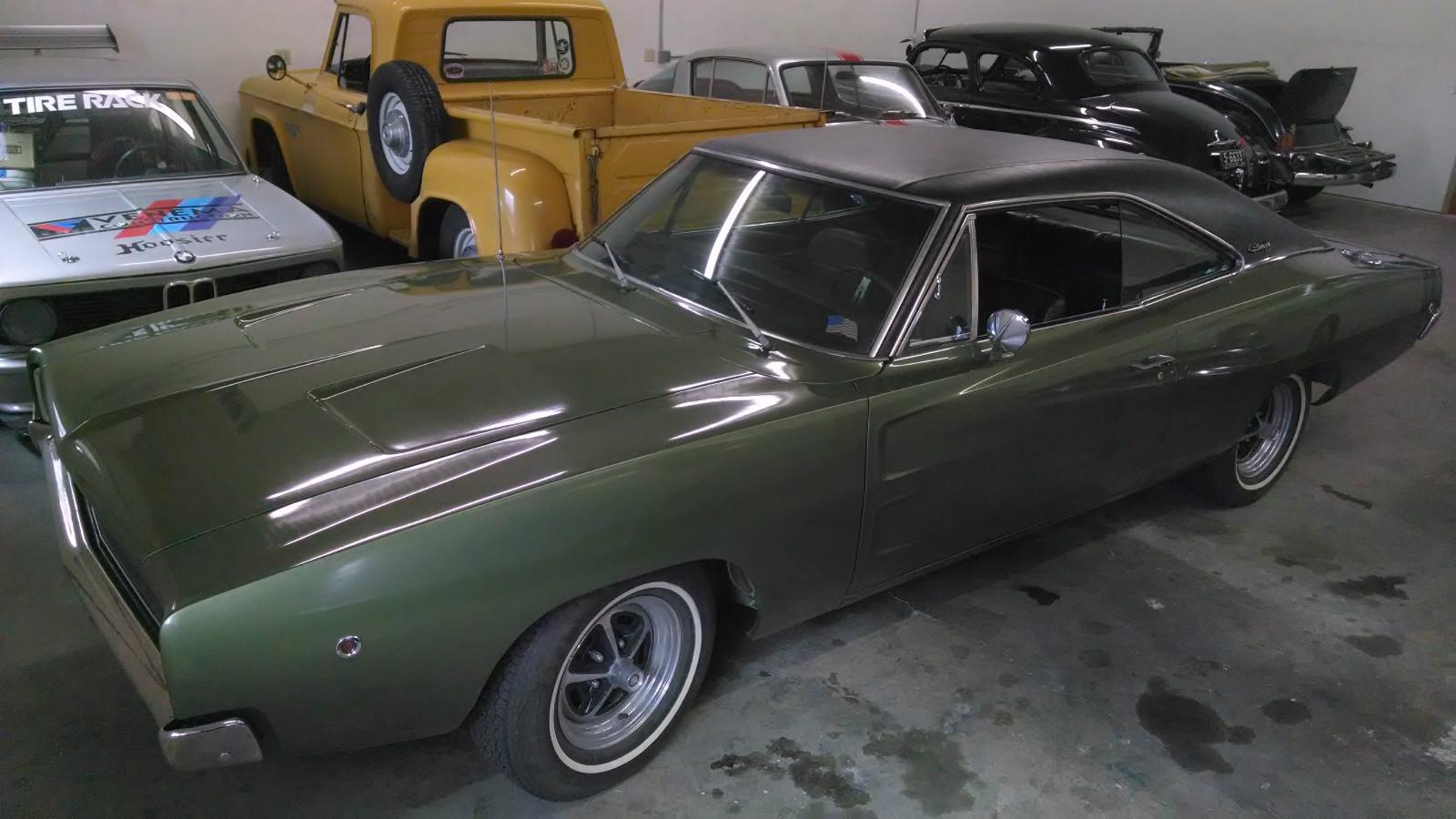 1968 Dodge Charger 383 4 Speed On Ebay Mopar Blog Drag Car 4speed 2