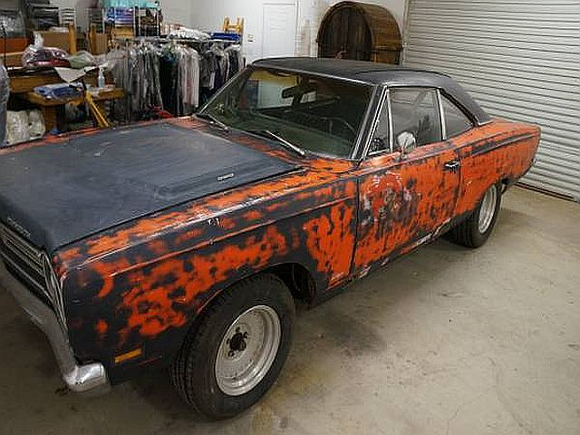 1969 Road Runner Post Car on Craigslist | Mopar Blog