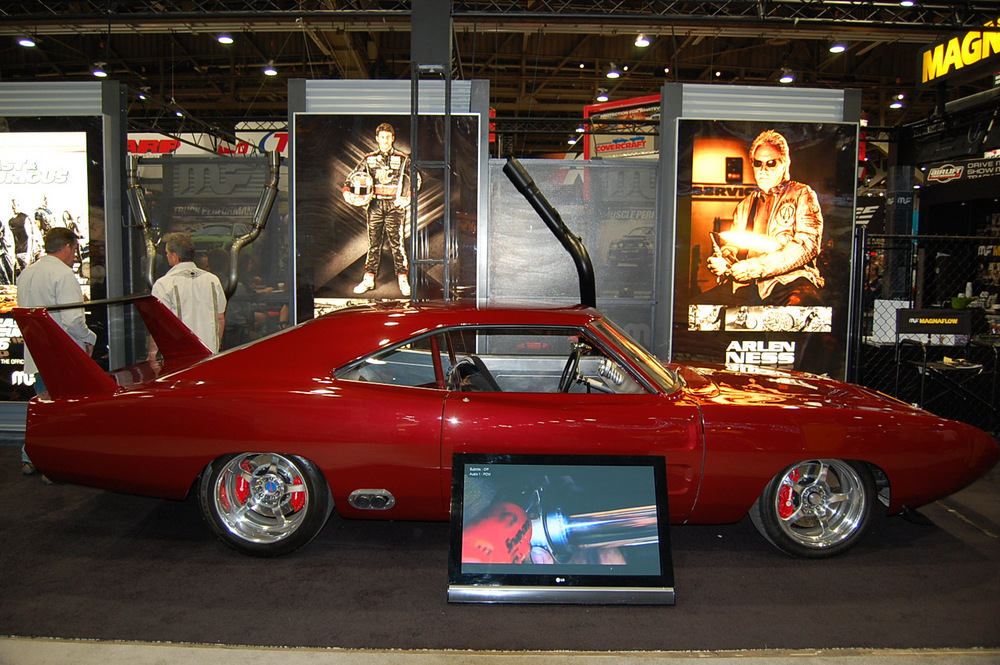 Fast And Furious Daytona In The Magnaflow Booth At Sema