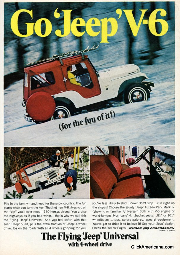 Hellcat For Sale >> Vintage Jeep Ads | Mopar Blog