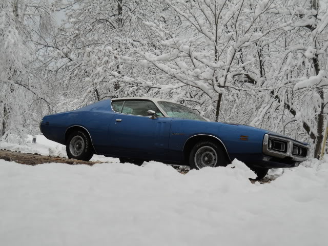 Mopar Muscle Cars >> Mopars in the Snow | Mopar Blog