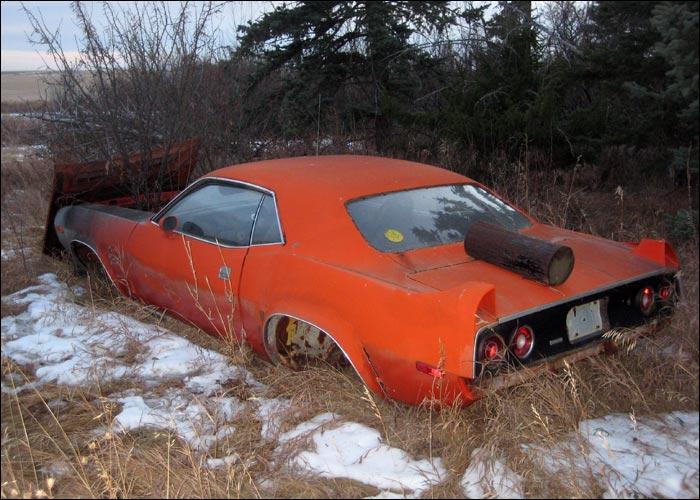 Canadian 1972 Plymouth Cuda Shell  Mopar Blog