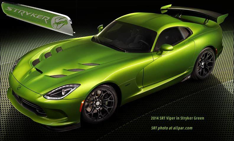 2014-SRT-Viper-Stryker-Green
