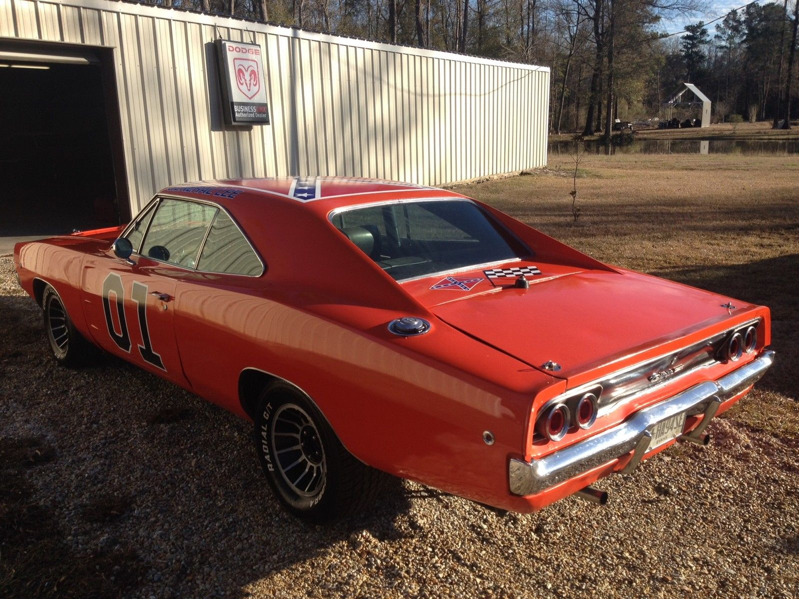 1968 dodge charger general lee on ebay mopar blog
