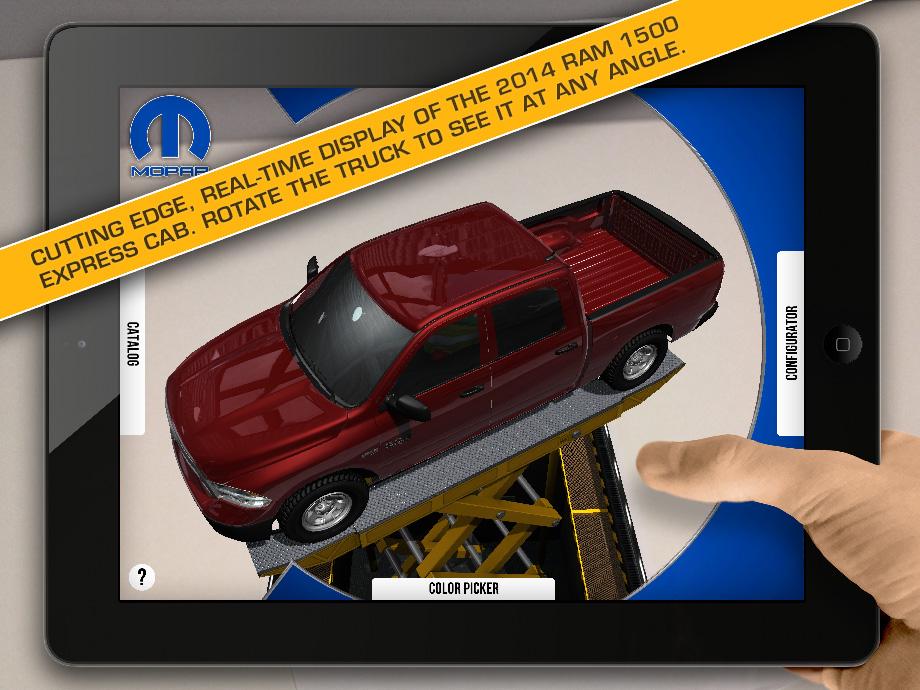 Ram-Build-a-Truck-App