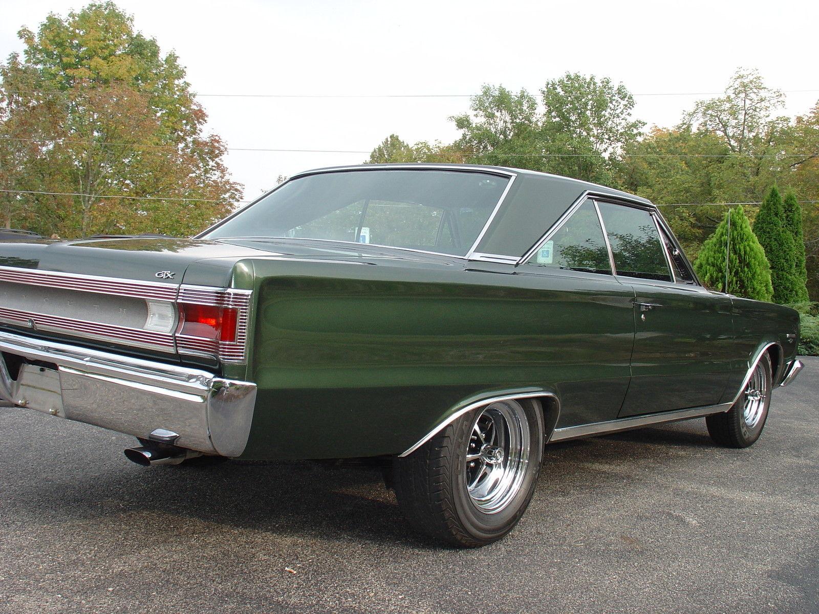 1967 Plymouth Gtx On Ebay Mopar Blog 1960 Hemi Rear 3qtr
