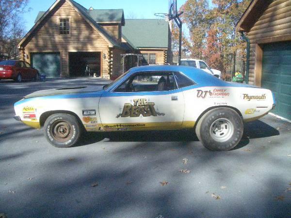 1970 Hemi Cuda Race Car on Craigslist | Mopar Blog