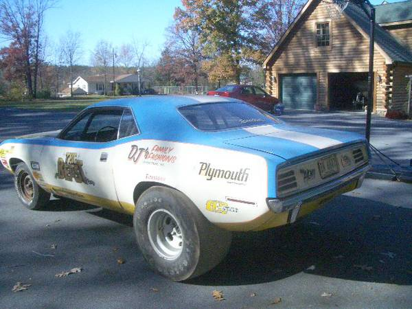 1970 Hemi Cuda Race Car on Craigslist | Mopar Blog