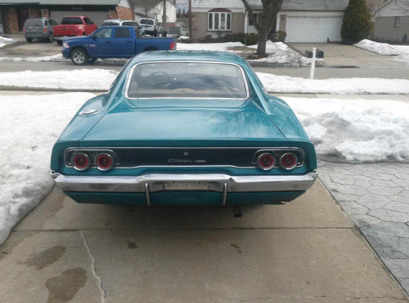 1968 Dodge Charger Survivor on eBay | Mopar Blog | 1600 x 1186 jpeg 268kB