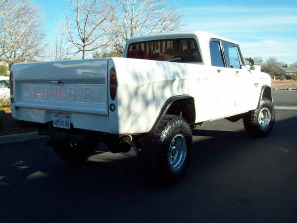 Customized 1968 Dodge Crew Cab on Craigslist | Mopar Blog
