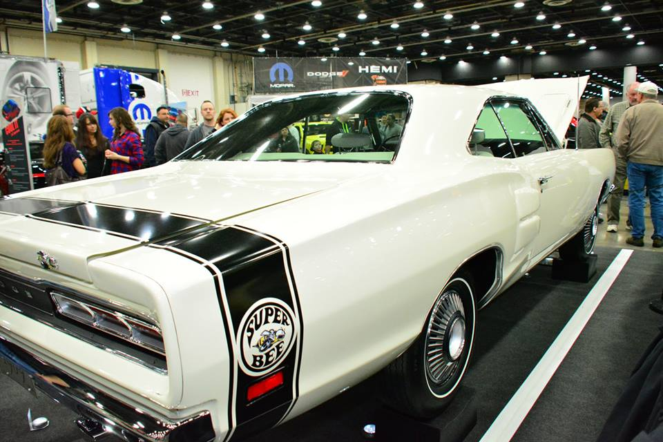 1969 Dodge Hemi Super Bee At The Detroit Autorama Mopar Blog