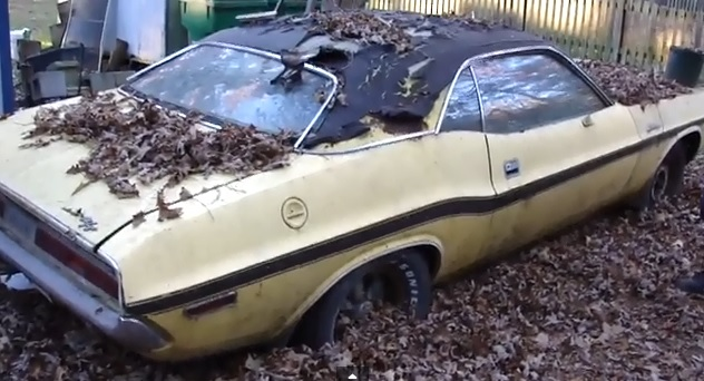 1970 Dodge Challenger R T Barn Find With Video Mopar Blog