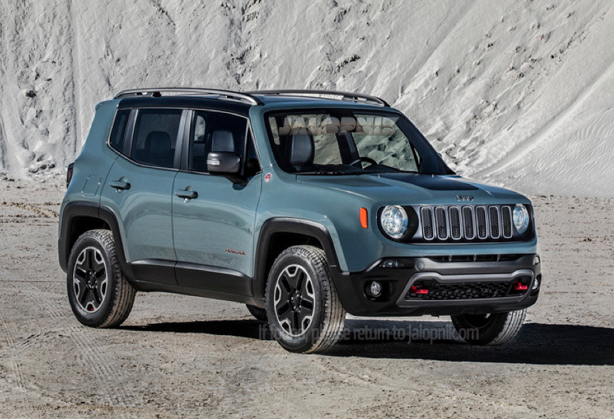 Meet The New Fiat Based Jeep The 2015 Renegade Mopar Blog