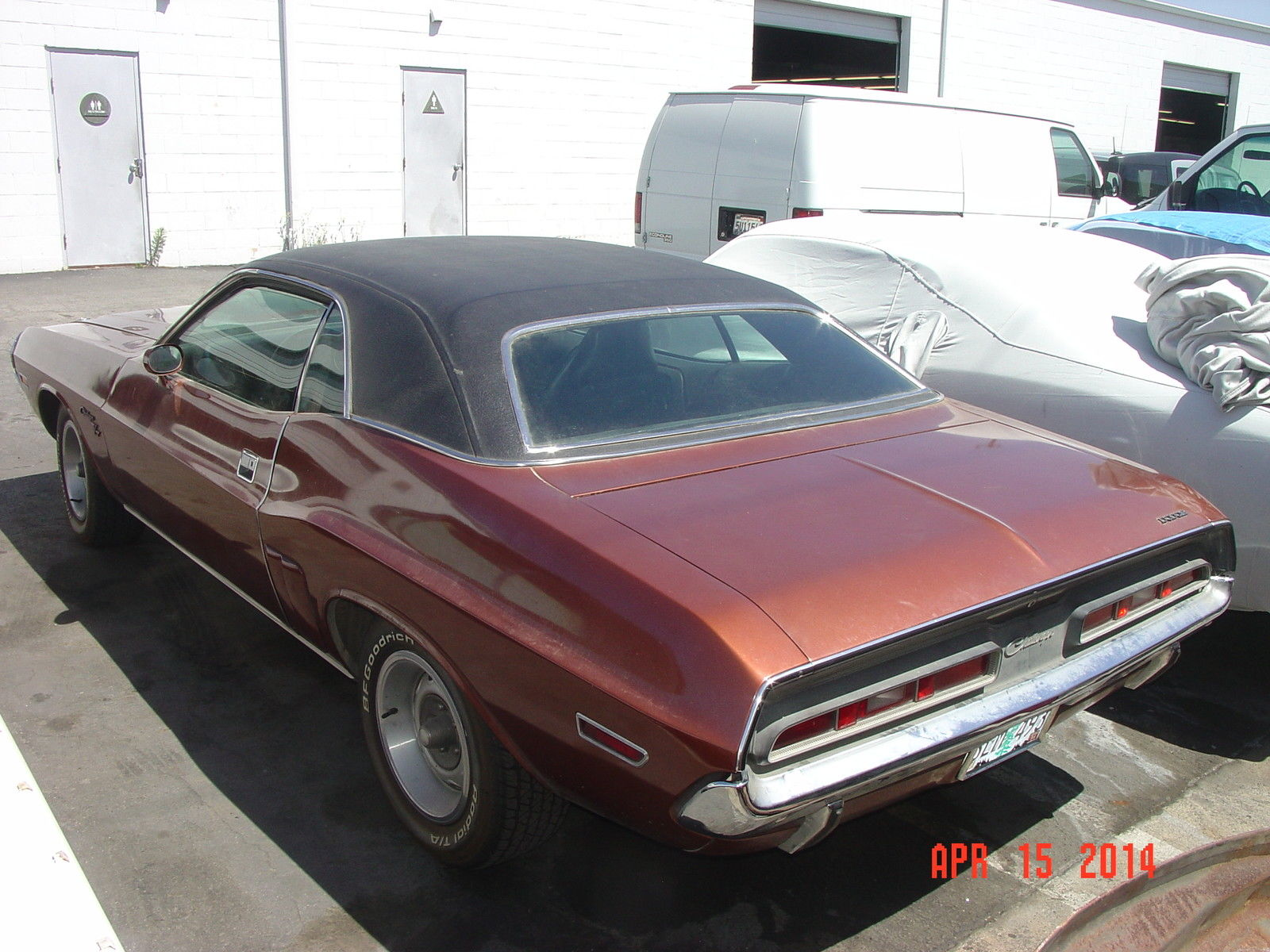 Survivor 1971 Hemi Challenger On Ebay Mopar Blog