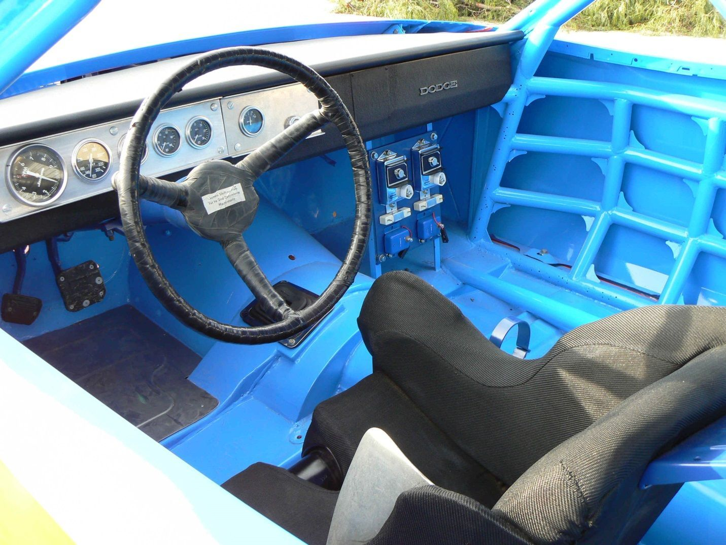 richard petty s 1972 charger on ebay mopar blog. Black Bedroom Furniture Sets. Home Design Ideas