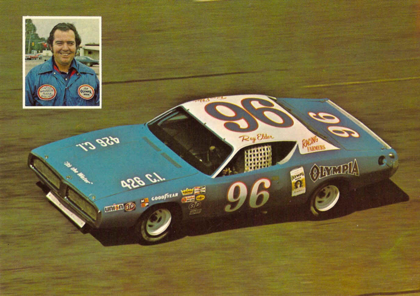charger richard 1972 petty dodge 1973 ray elder