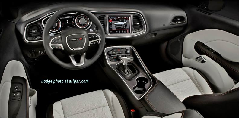 challenger dodge charger interior allpar track dash muscle hellcat mopar cars pak super exhaust