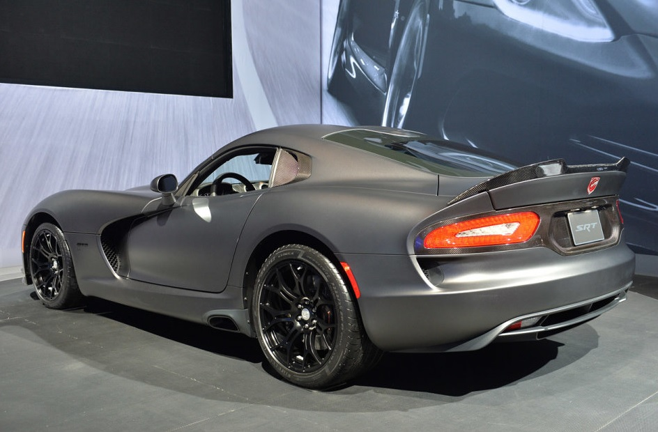 Srt Anodized Carbon Special Edition Viper Ta Mopar Blog