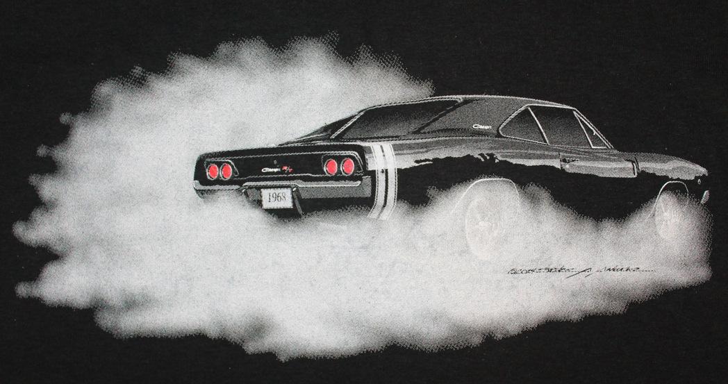 Dodge Challenger Hellcat For Sale >> 1968 Dodge Charger T-Shirt BLOWOUT | Mopar Blog