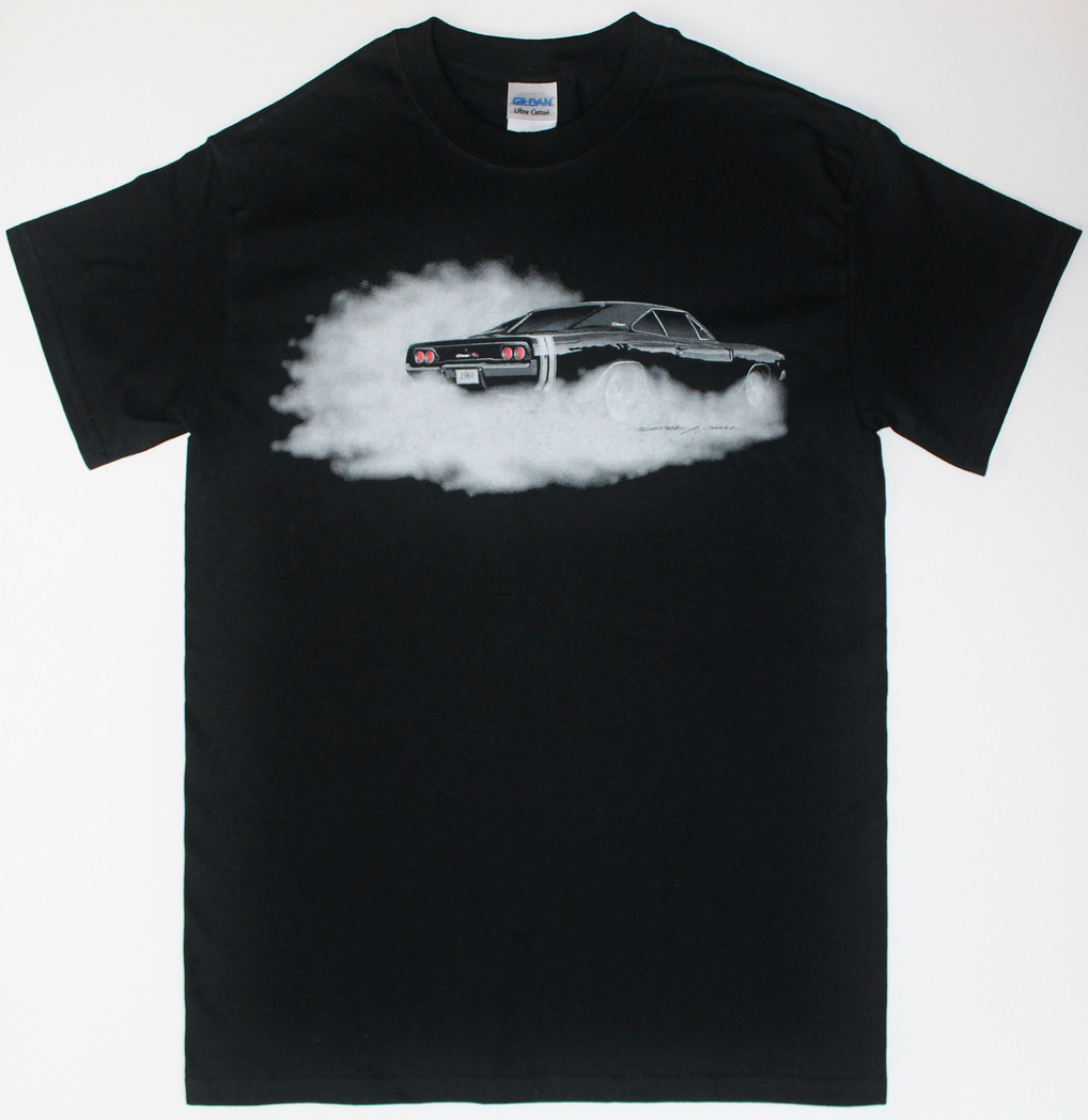 1968-Dodge-Charger-t-shirt